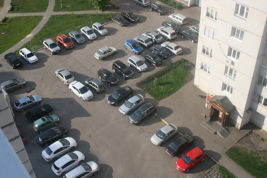 Парковка в мкр Московский
