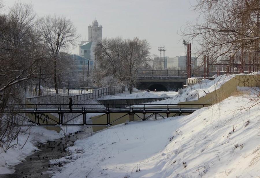 Мост через Студенец. Фото Марины Климковой.
