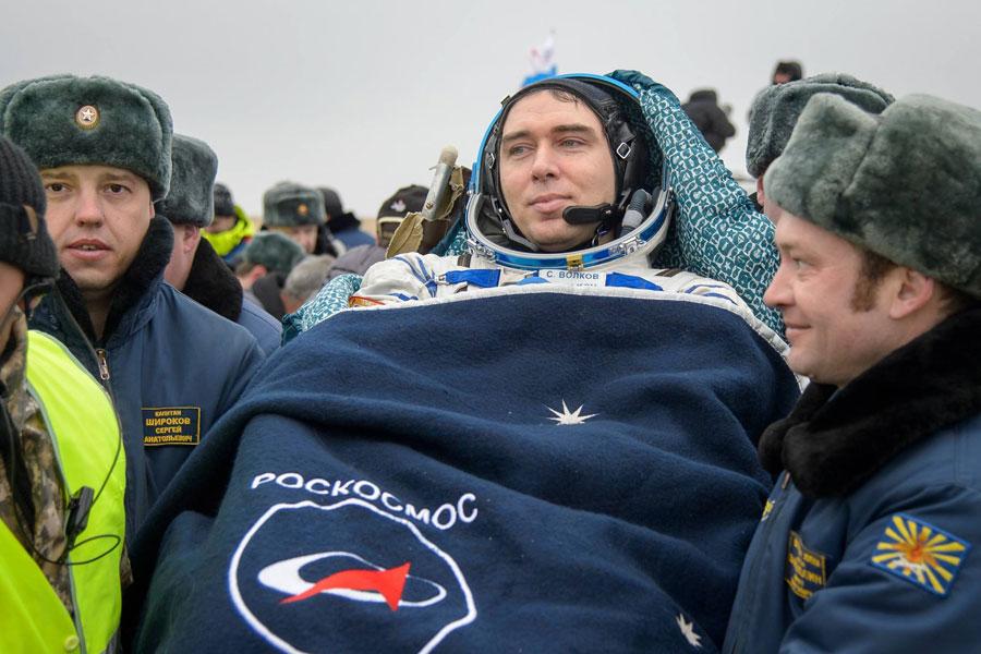 Сергей Волков. Фото facebook.com/ISS