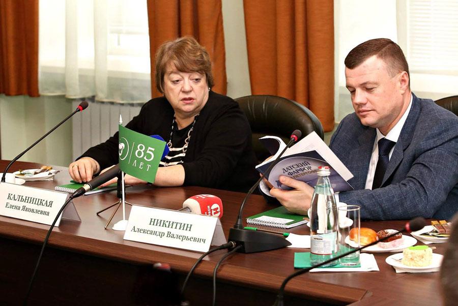 Александр Никитин и Елена Кальницкая. Фото В. Измайлова