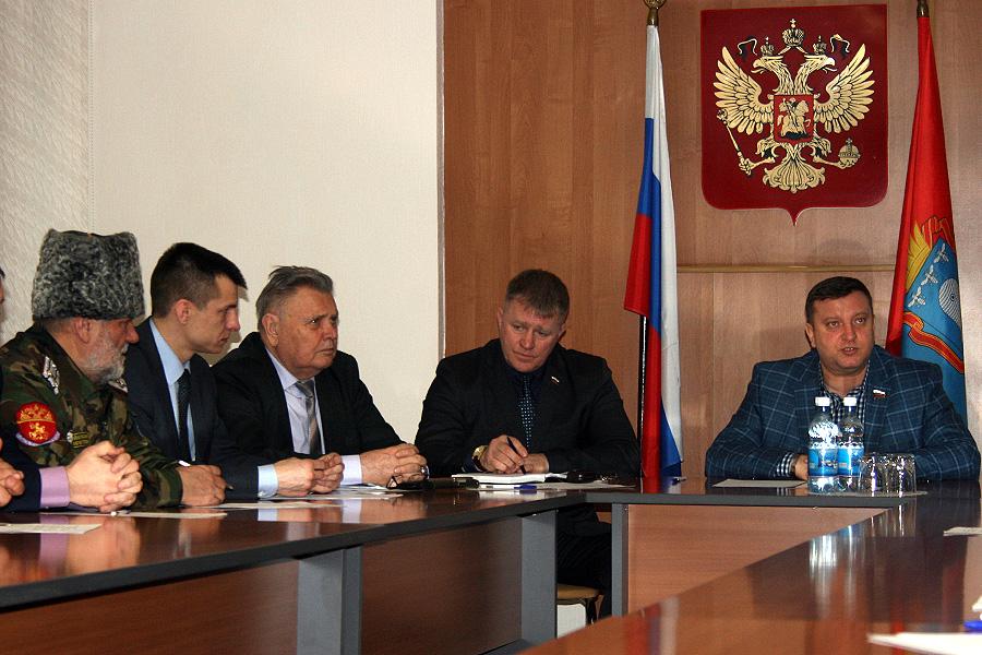 Сенатор Алексей Кондратьев