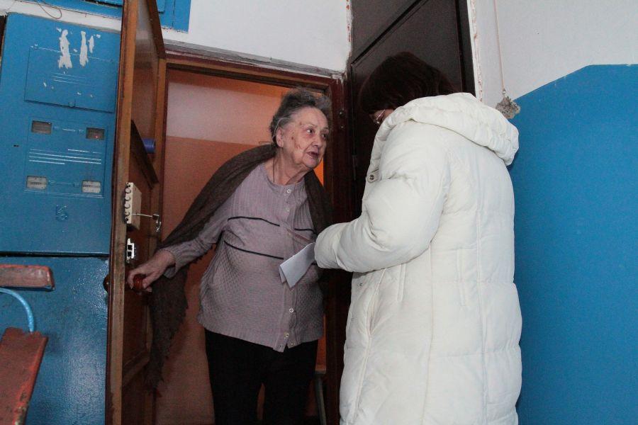 Неизвестные ходят по квартирам