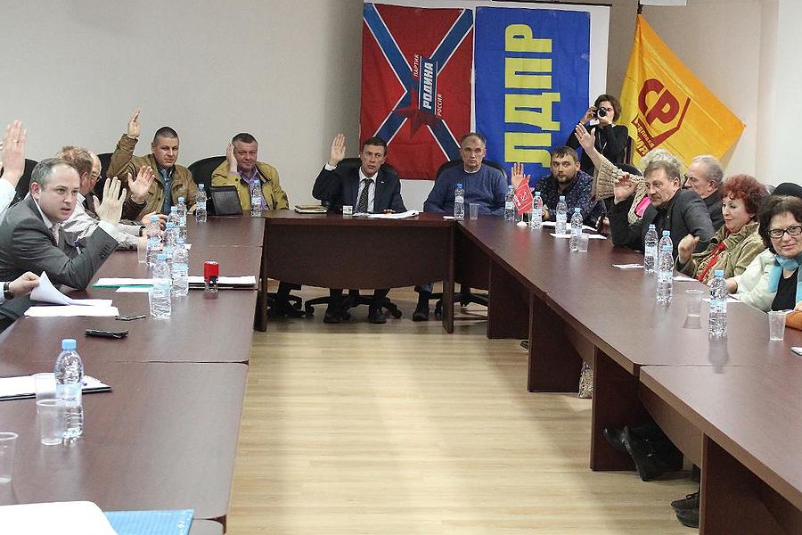Встреча политических партий в Тамбове