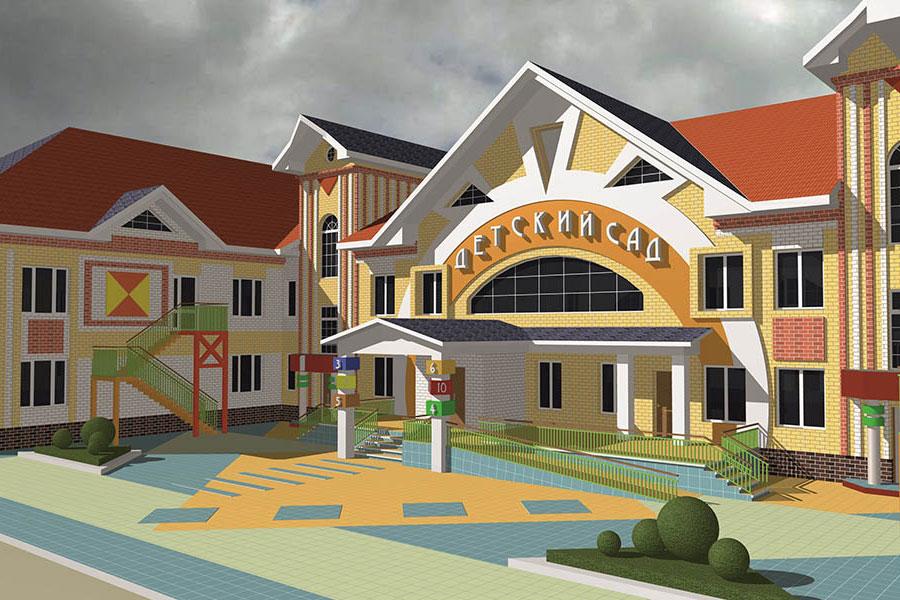 Проект детского сада