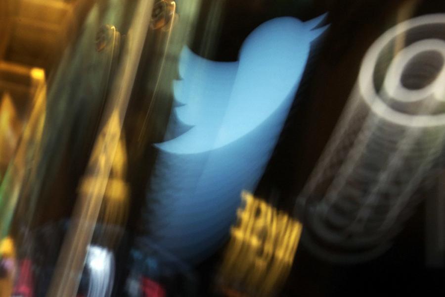 Твиттер. Фото ТАСС.
