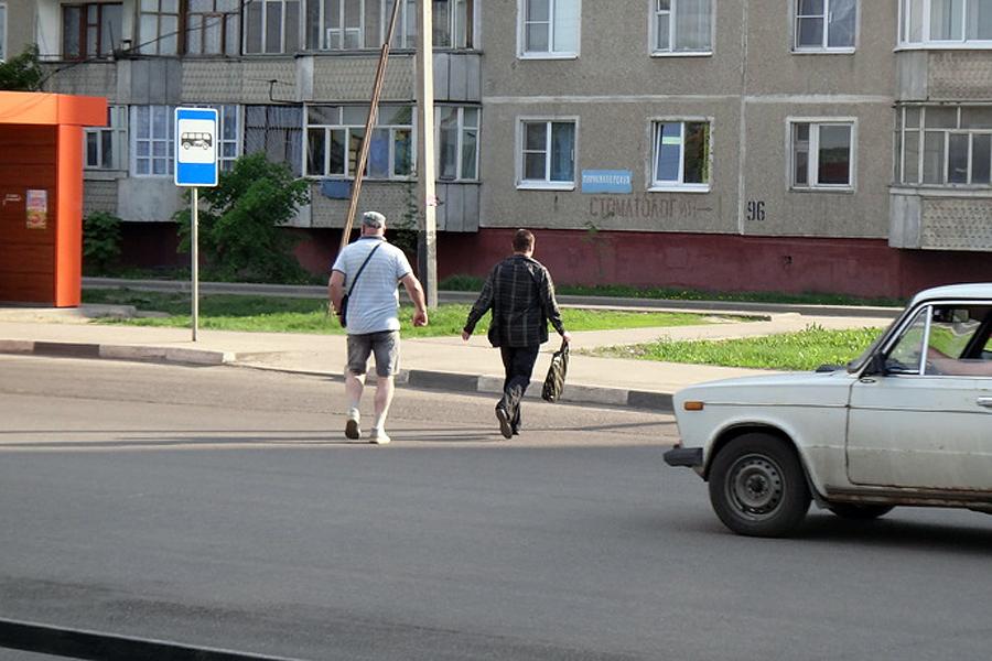 Светофор на Рылеева. Фото ВТамбове.