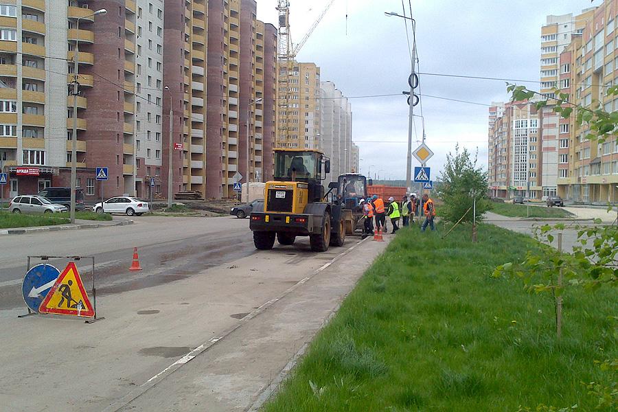 Уборка дорог в Московском