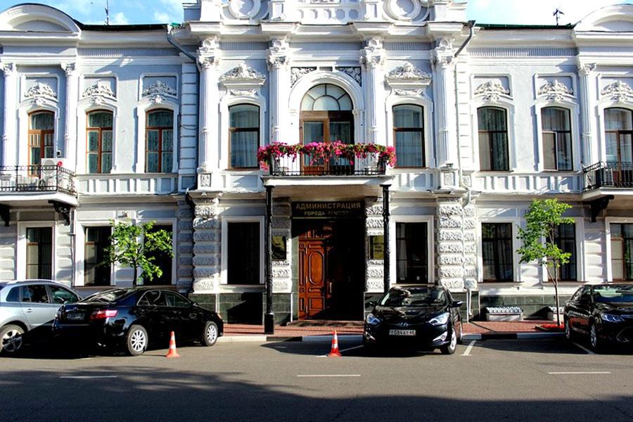 Администрация города Тамбова. Фото Марины Климковой