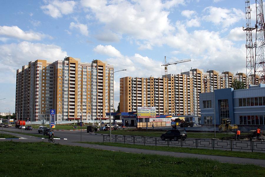 Новостройки на Мичуринской