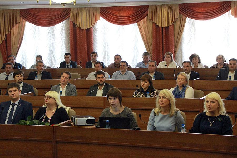 Депутаты Тамбовской городской думы