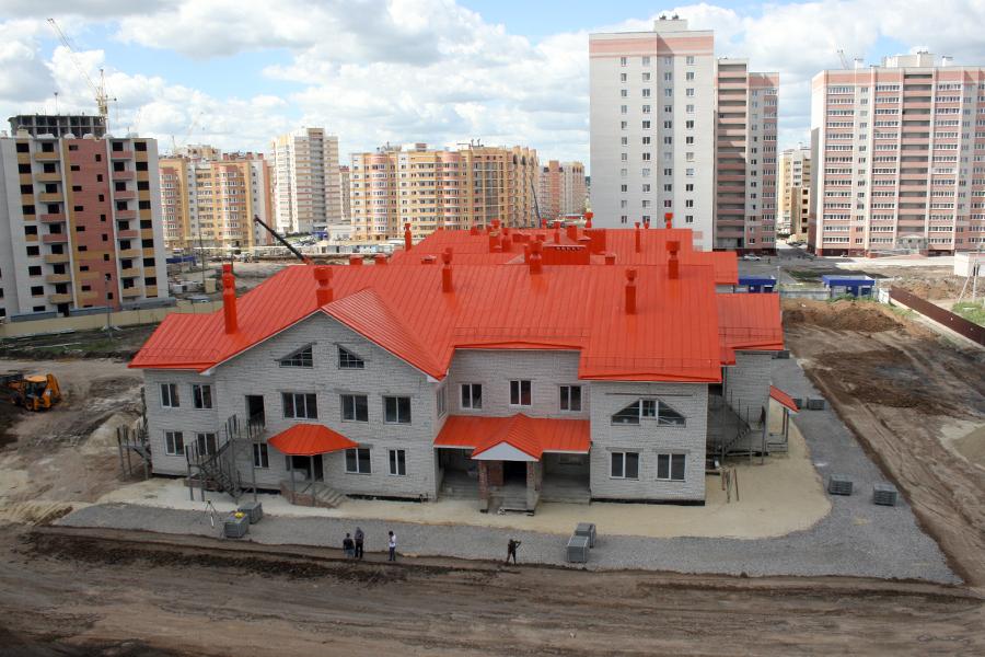 """Строительство детского сада """"Солнышко"""""""