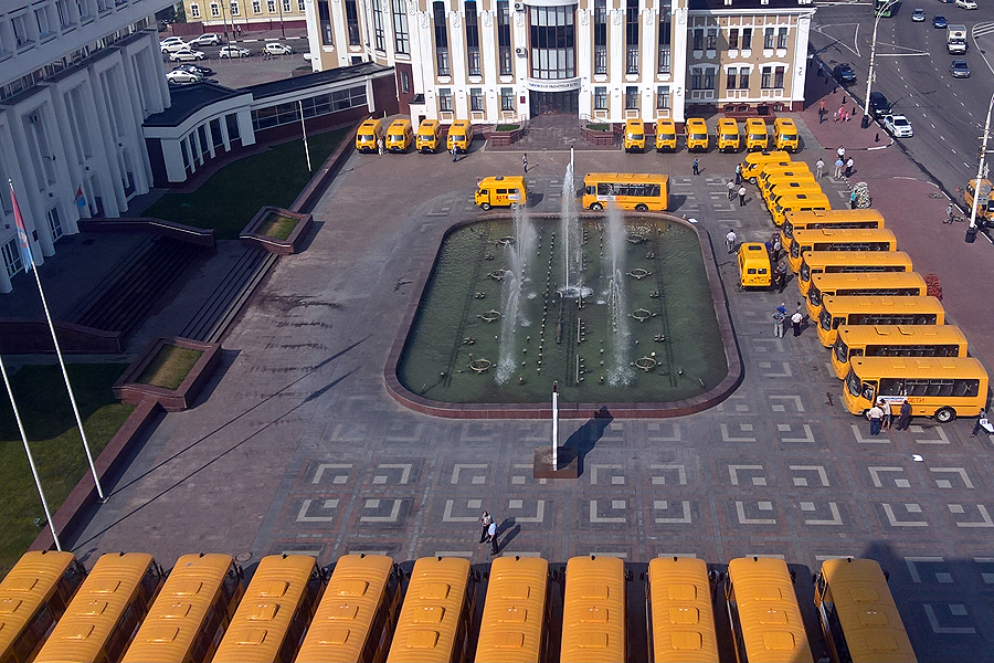 Школьный автопарк