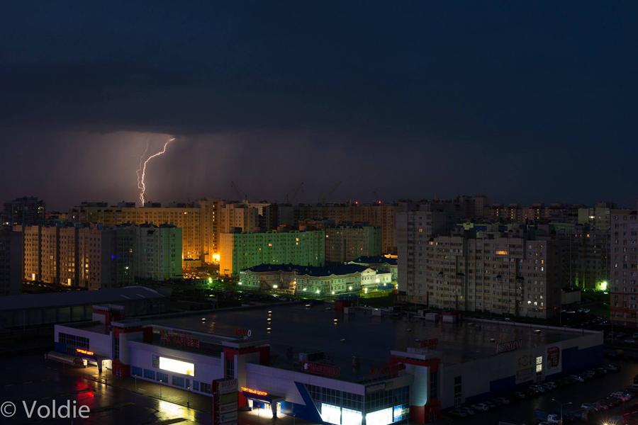 Гроза над Московским