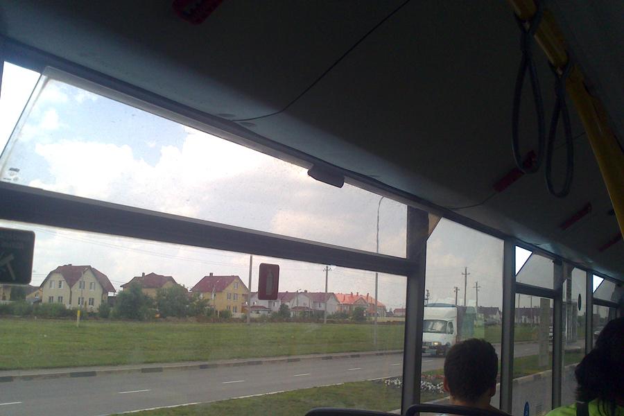 Форточки в новых автобусах