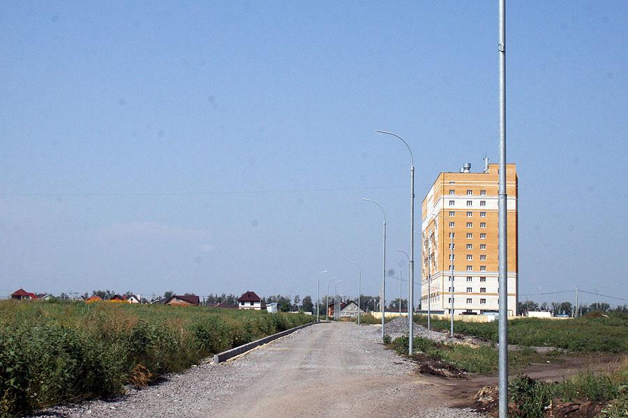 Дороги в микрорайоне Телецентр