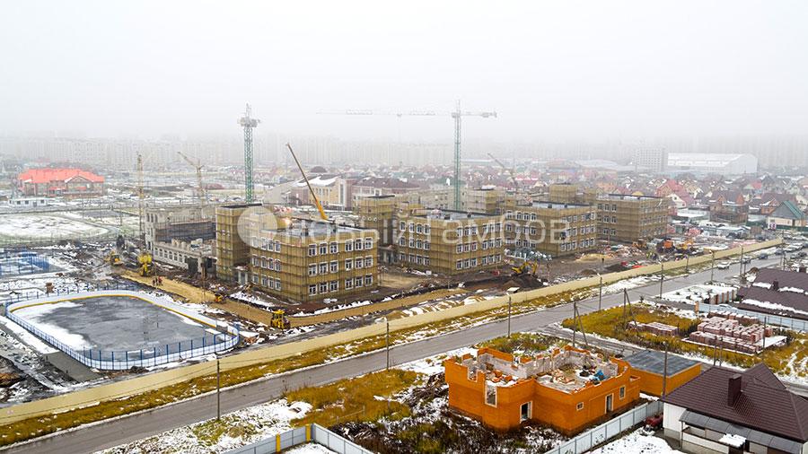Строительство школы Сколково в Радужном. Фото Новый Тамбов.