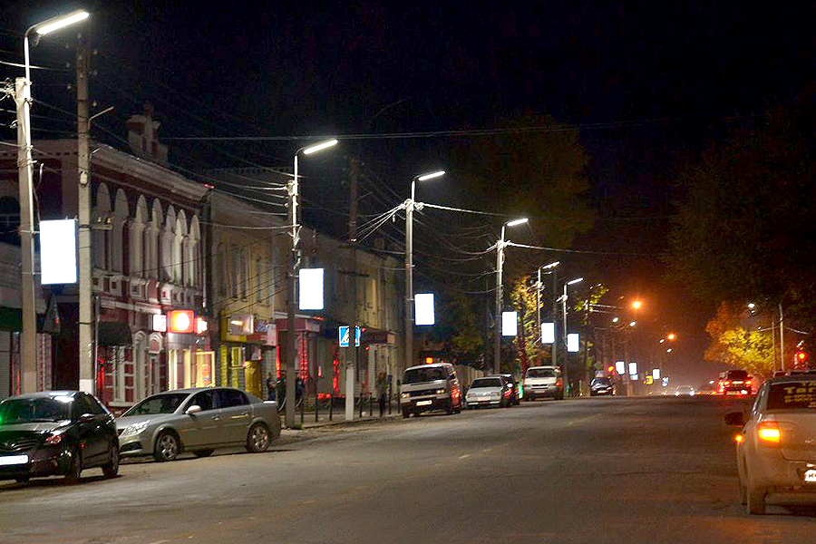 Освещение в Кирсанове