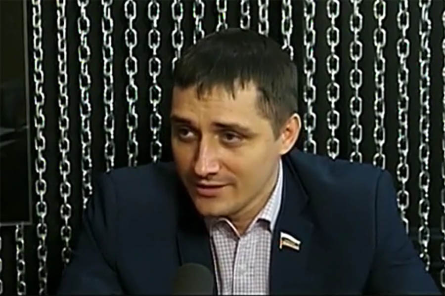 Депутат Алексей Власкин