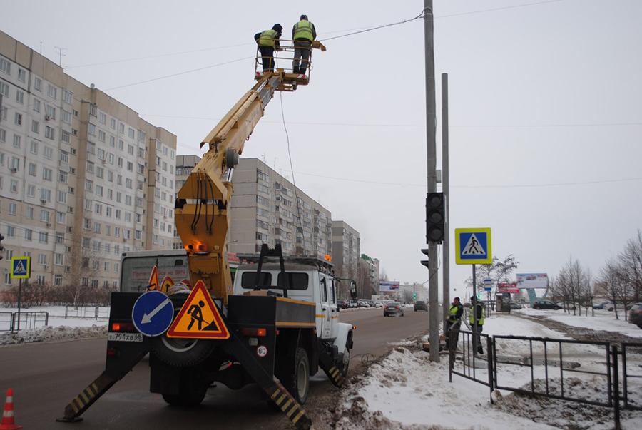 Светофор на Рылеева