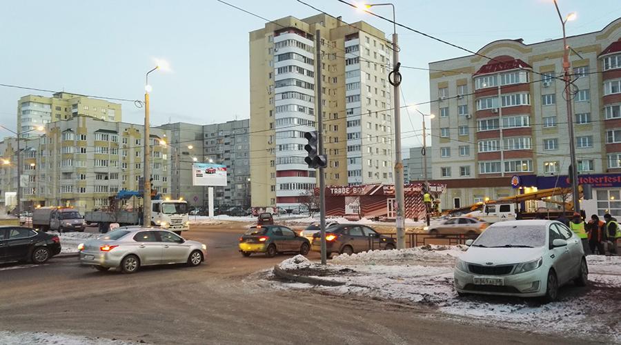Светофор на улице Чичерина