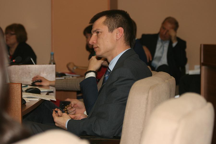 Андрей Рыбась, депутат Тамбовкой городской думы