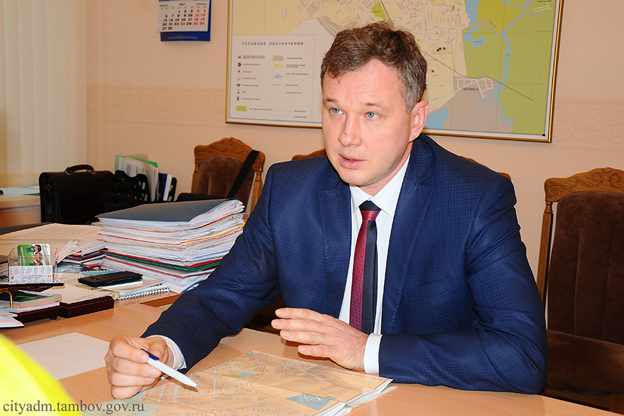 Александр Кузнецов, заместитель главы администрации города Тамбова