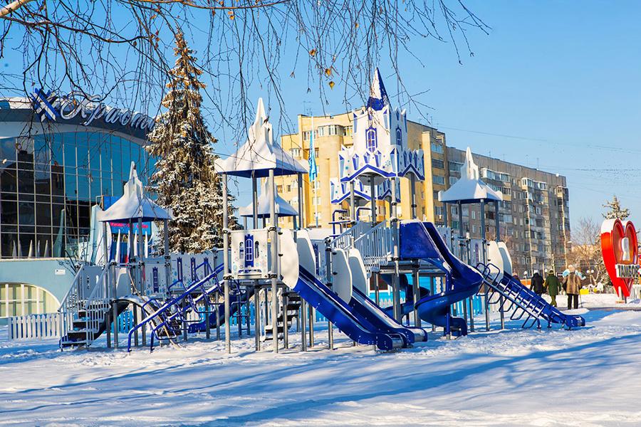 Игровой комплекс. Фото Виктории Кузнецовой