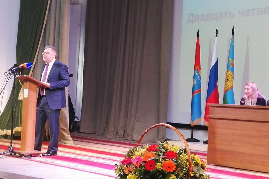 Выступление Сергея Чеботарева