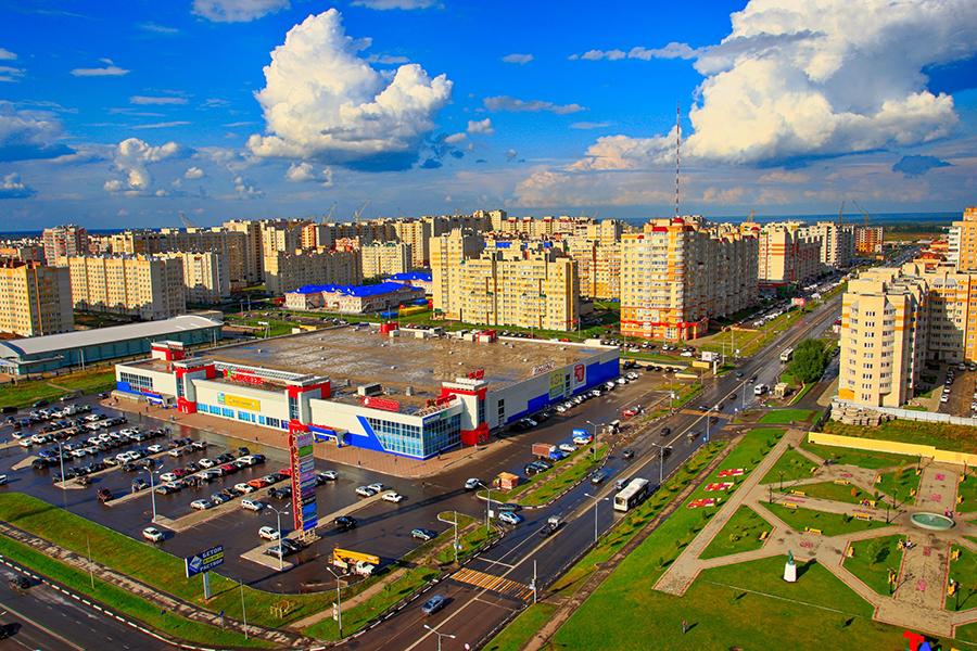 Тамбов, микрорайон Московский. Фото Дмитрия Старостина.