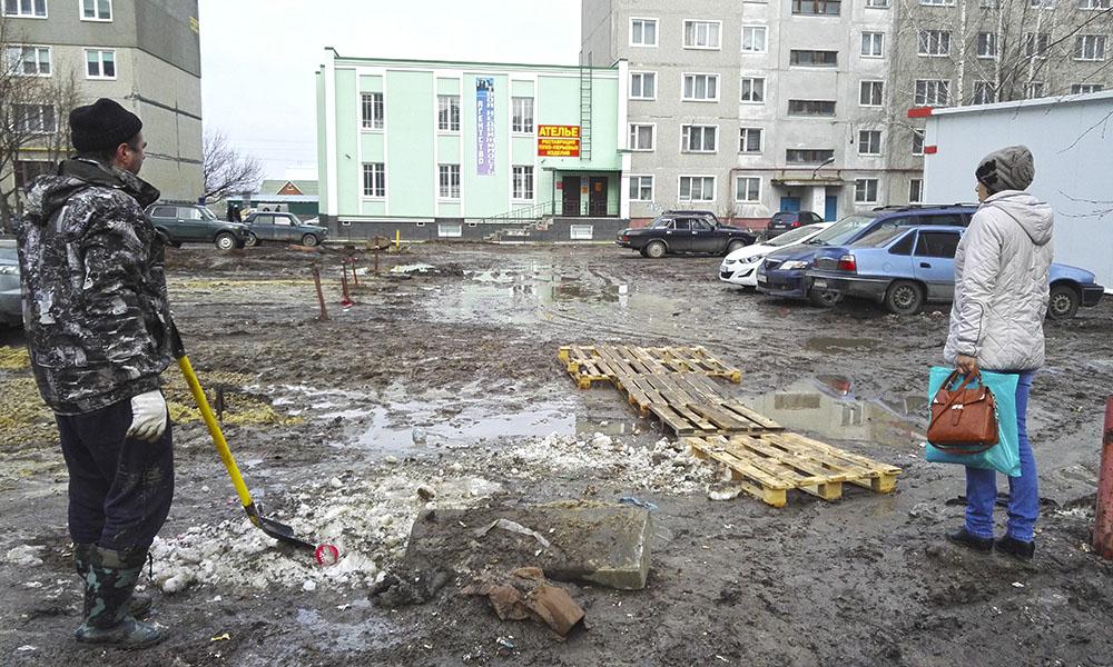 Двор на Чичерина, фото Новый Тамбов.
