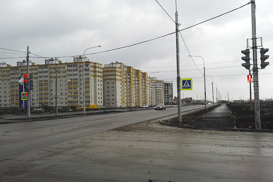 Перекресток Рылеева-Агапкина, фото Сергея Жилина - Новый Тамбов