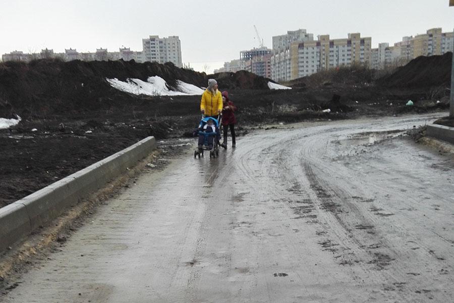 Дорога в мкр Телецентр
