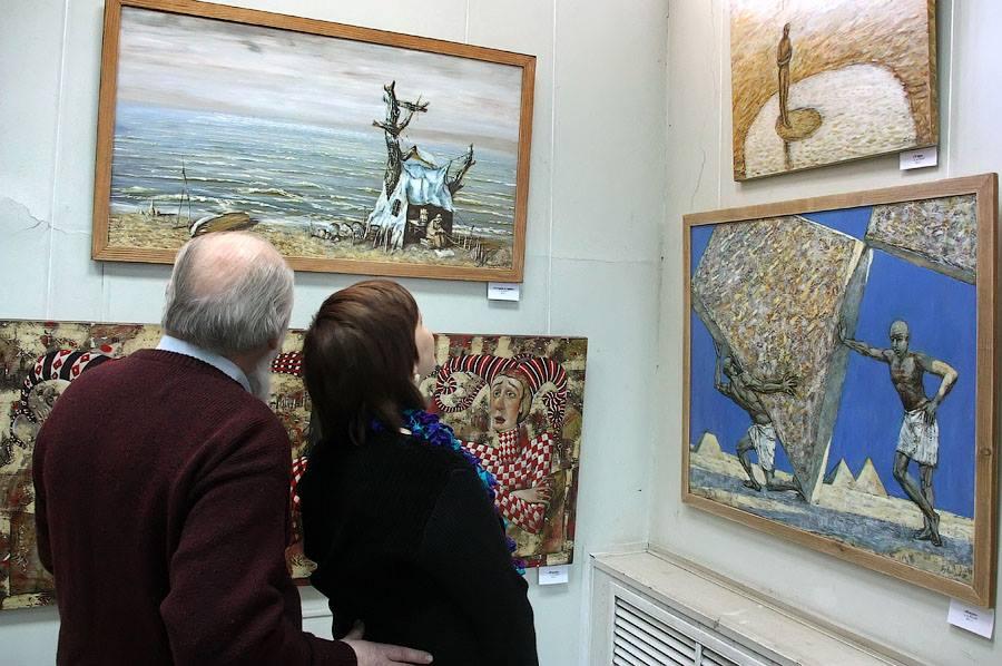Юбилейная выставка Андрея Бубенцова