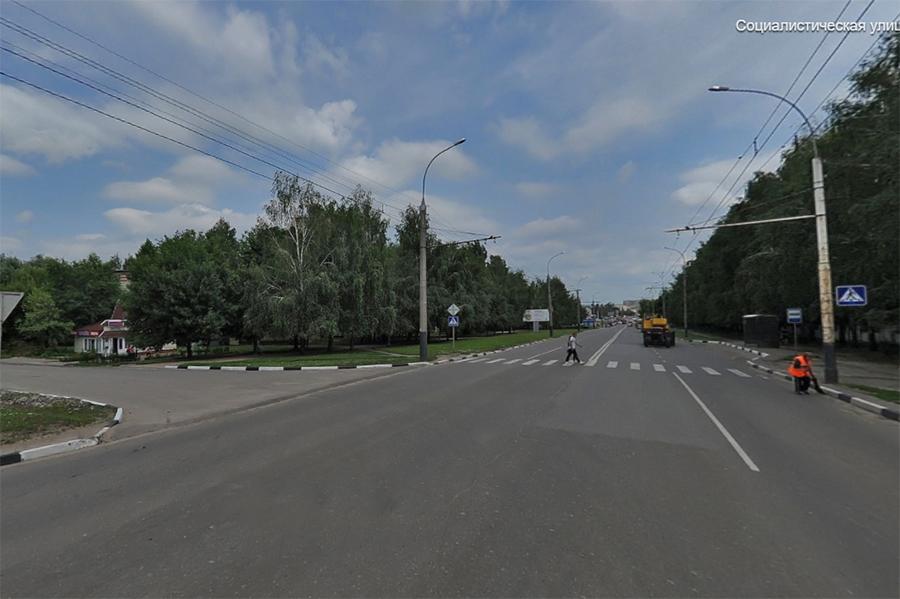 Перекресток бульвара Энтузиастов и Социалистической