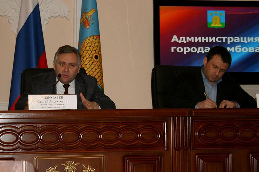 Сергей Чеботарев и Виктор Путинцев