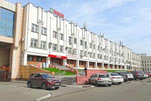 Здание «Тамак» на Интернациональной улице в Тамбове