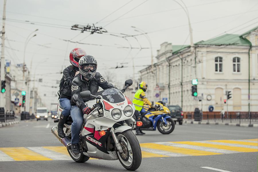 Мотоциклисты Тамбова. Фото интернет-портал ВТамбове.