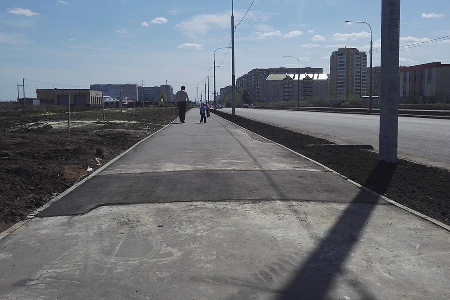 Тротуары на Рылеева