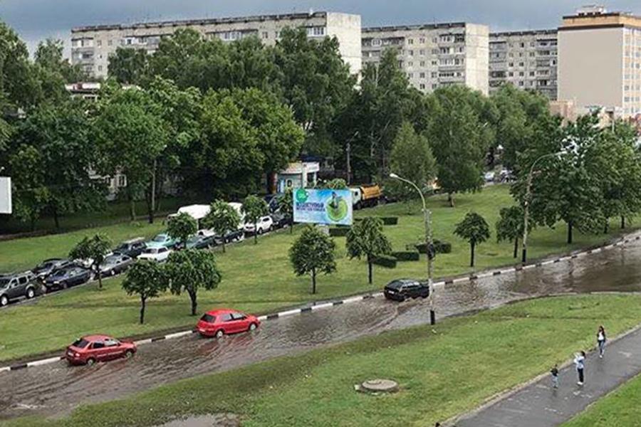 Затопление Рылеева. Фото Сергея Меркулова.