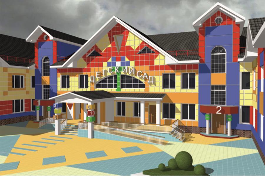 Проект нового детского сада на Запрудном пр, 3