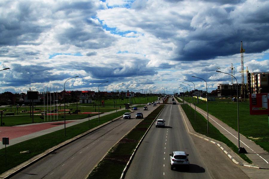 Улица Мичуринская. Фото Екатерины Гавриловой.