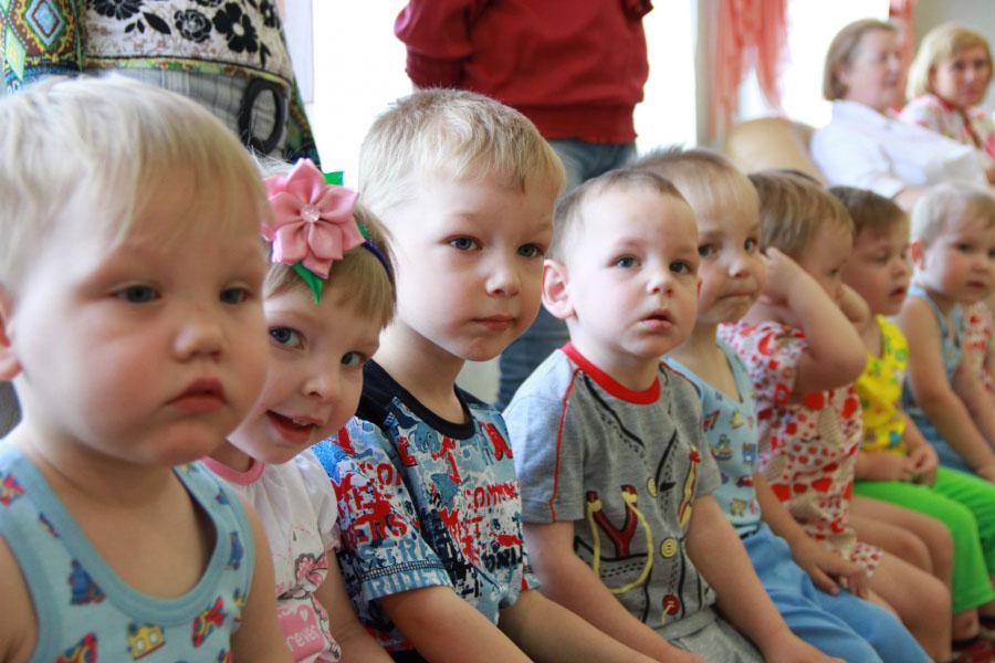 Малыши из дома малютки- Тамбов