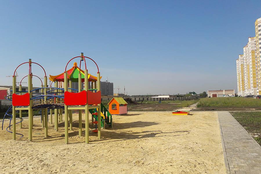 Игровая площадка на Сабуровской