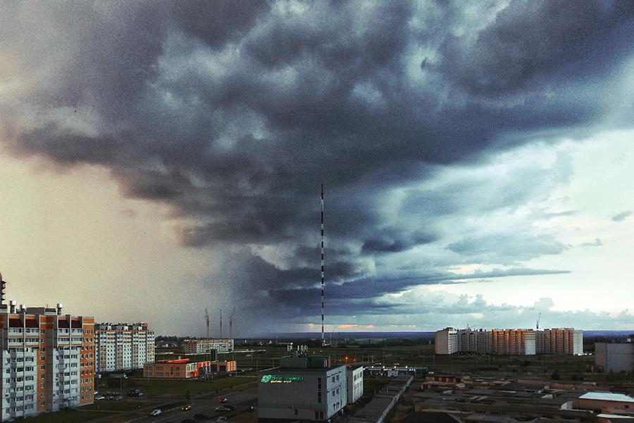 Вид на микрорайон Телецентр. Автор фотоснимка — Сергей Цалюк