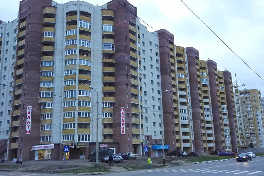 """Дом по Агапкина компании """"ЦентрЖилСтрой"""""""