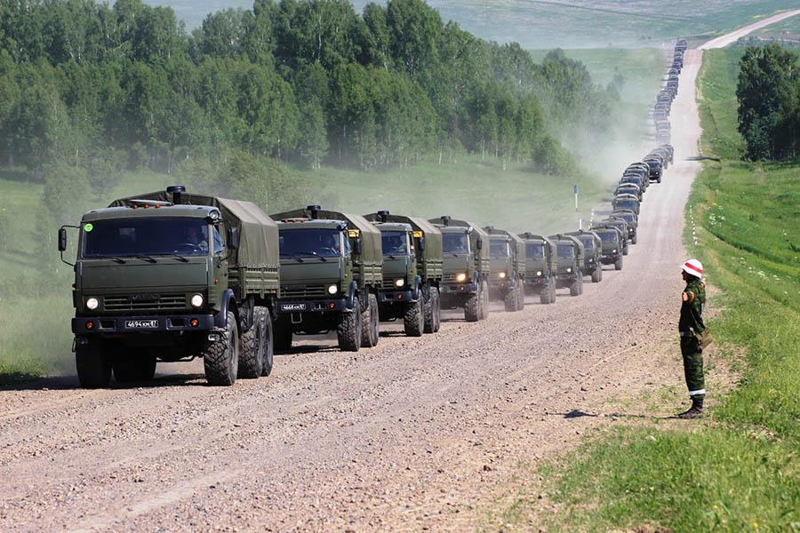 Колона военной техники