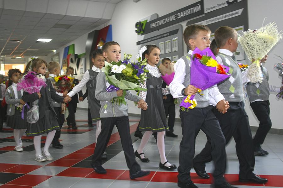 Открытие школы Сколково