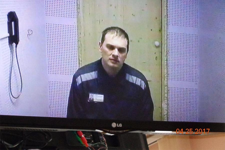 Дмитрий Горденков на суде