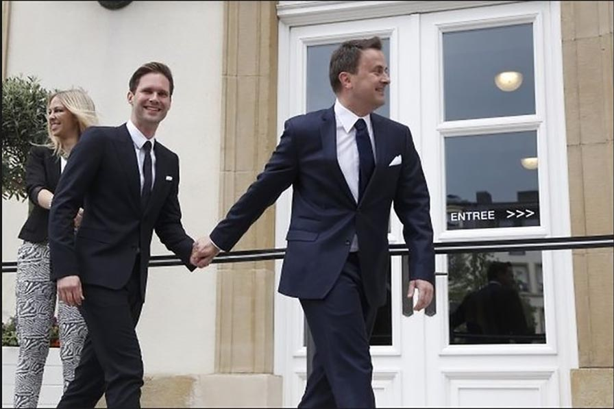недвижимость, земельные премьер министр люксембурга и его муж фото годы