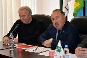 Валерий Газаев и Олег Романцев